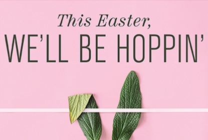 Easter Tout Graphic