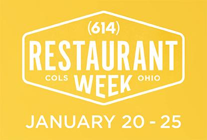 Restaurant Week January 20-25, 2020